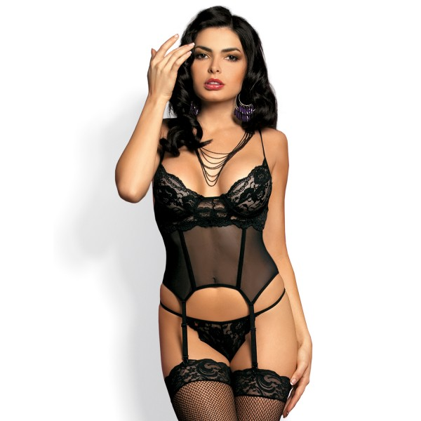 Magnolie Corset and Thong